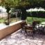 La terrassa, a l'exterior de la casa