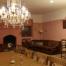 Sala menjador amb gran llar de foc,capacitat per a 20 persones