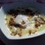 Primer plat, Patata amb ou de gallina i bolets! Una sorpresa de plat, no esperava el puré i l'ou ferrat enmig, molt original i boníssim!