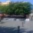 Vista de la terrassa desde la Plaça Prat de la Riba.