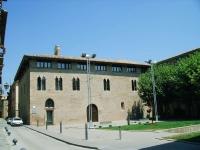 Edifici gótic que acull el Consell Comarcal del Solsonés.