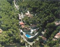 Vista aèria del càmping El Maset