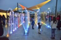 Inauguració fonts d'aigua al Càmping Riembau de Platja d'Aro
