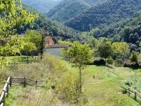 Vista de la vall des de les feixes de La Rectoria