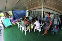 Parcela en Camping Creixell