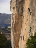 Escalant 'El Falcó', a 10 minuts del Mas