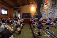 Futbolí a la sala de jocs