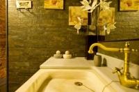 Detall d'un dels banys de la casa