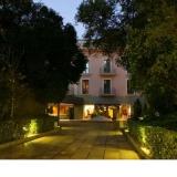 Accés a l'hotel Balneari Vila de Caldes.