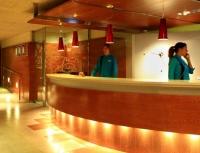 Recepció Aqua Hotel Montagut