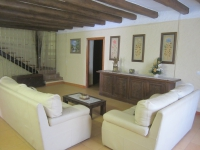 La sala d'estar, ideal per descansar!!