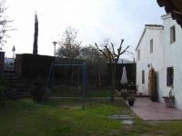 El jardi de La Polvoreria, en una tarda d'hivern