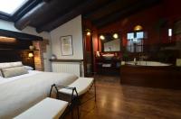 habitació Suite Constanza amb jacuzzi i solarium.