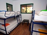 Habitació de l'alberg.