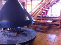 La xemeneia, no va parar de cremar durant tot el dia! ;)