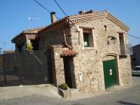 Façana de 'EL PALLER DE L'ALBERA'  - Casa de Poble Independent - en Rabós d'Empordà- (poble de pessebre)