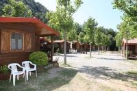 zona de bungalows ben equipats per passar uns dies de descans