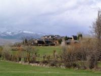Vistes del poble d'Urús, entorn de l'allotjament