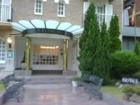 Entrada del Hotel edelweiss