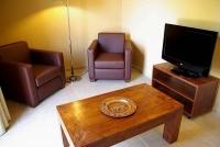 Apartament 4 - 6 PAX, detall de la sala d'estar.