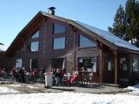 El bar-restaurant de la Estació d'esquí i muntanya de Lles