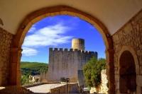 Castell de Castellet i la Gornal des de l'Església de Sant Pere.