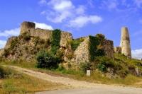 Recinte del Castell de Subirats.