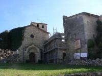 El Monestir de Sant Sebastià dels Gorgs en restauració