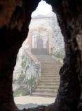 Entrada misteriosa al Castell de Subirats