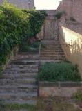 Escala rústica de la quarta muralla de Torre-ramona