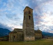 esglèsia romànica de Sant Climent a les afores de Coll de Nargó