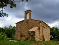 Ermita de Sant Cristòfol, castell de Queralt.
