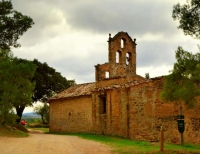 Ermita romànica de la Mare de Déu de la Sala.