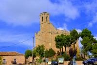 Església de Santa Maria de Rubio, restaurant i castell.