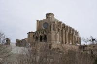 Basílica de Santa Maria de Manresa.  Iniciada l'any 1322 sota la direcció de Berenguer de Montagut i acabada el 1488, és un exemplar rellevant de l'arquitectura gòtica catalana.