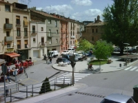 La plaça del poble