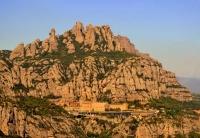 Montserrat a vista d'ocell.