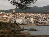 Vistes de Calella de Palafrugell, des del Cami de Ronda