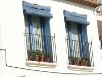 Finestres de casa pescadora, Calella de Palafrugell