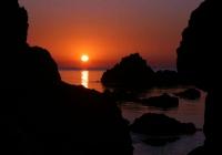 Sortida de sol a la cala del 'Golfet' a Calella de Palafrugell