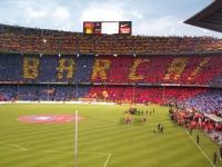 El Camp Nou vestit per una gran ocasio