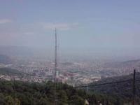 Panoramica des de el Tibidabo