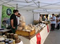 Mostra de formatges artesans.
