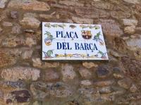 La Plaça del Barça a Castellar de N'hug