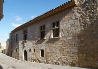 façana de l'antic Hospital de Montblanc
