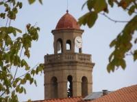 El campanar de la església de Calella