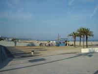 Platja al costat del port