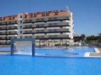 Es tracta de la piscina d'aigua salada del Hotel Don Angel , un plaer pel sentits per la finura que té l'aigua salada , el conjunt és quasi un spa al aire lliure. És un gaudi total .www.hoteldonangel.com
