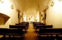 Interior de l'Església de Sant Cosme i Sant Damià de Queixans