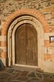 Porta d'entrada de l'Església de Sant Martí d'Urtx